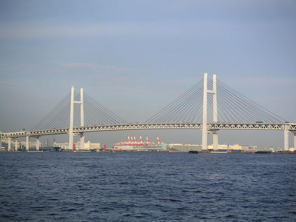 横浜ベイブリッジ開業25周年