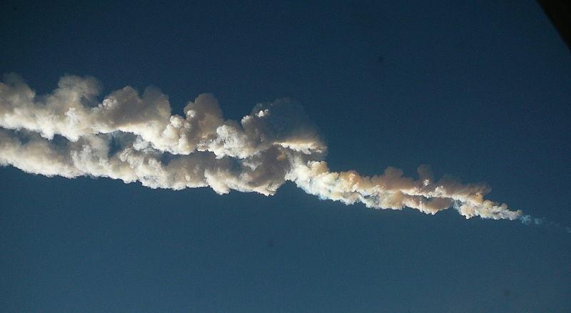 ロシア隕石落下